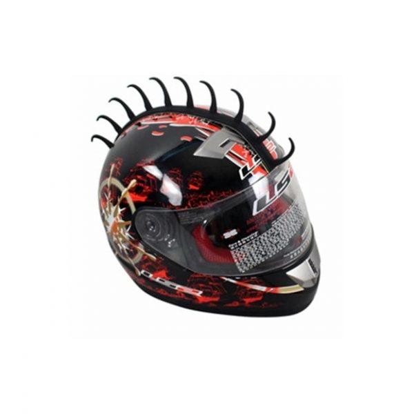 crete-casque-de-moto-noir