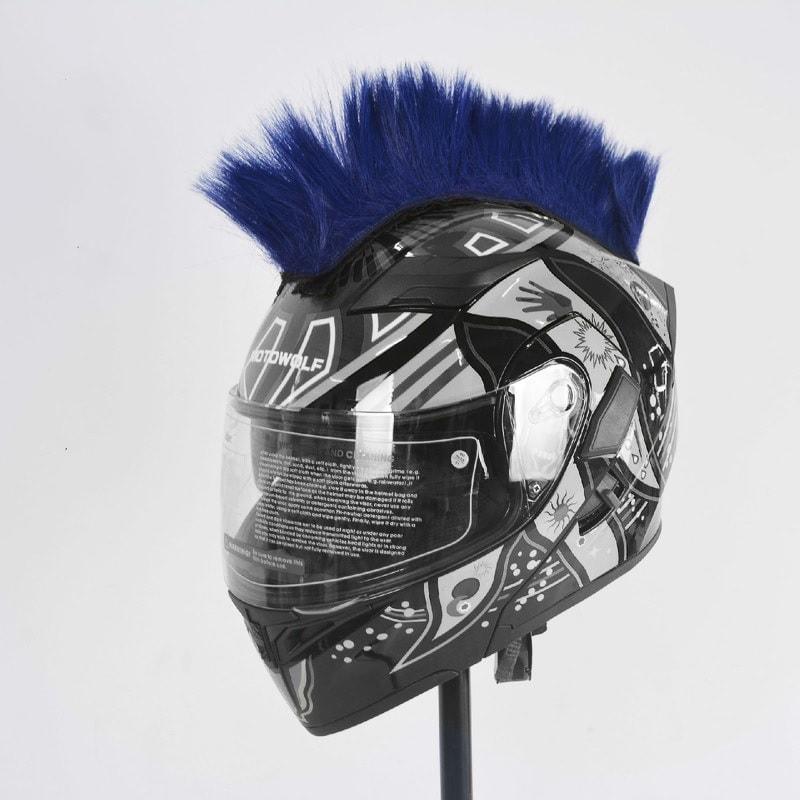 15553d27078 Crête coupe punk pour casque de moto - Fun Tuning
