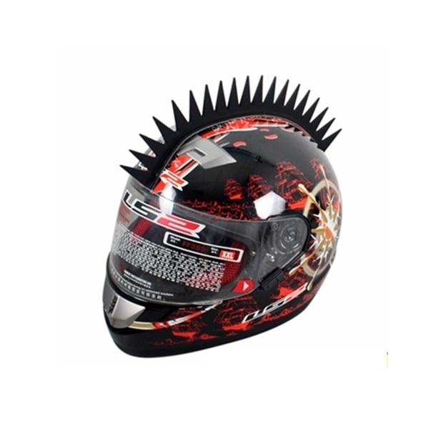 8de2b8ff212 Crête pour casque de moto rigide avec picots longs et rapprochés ...