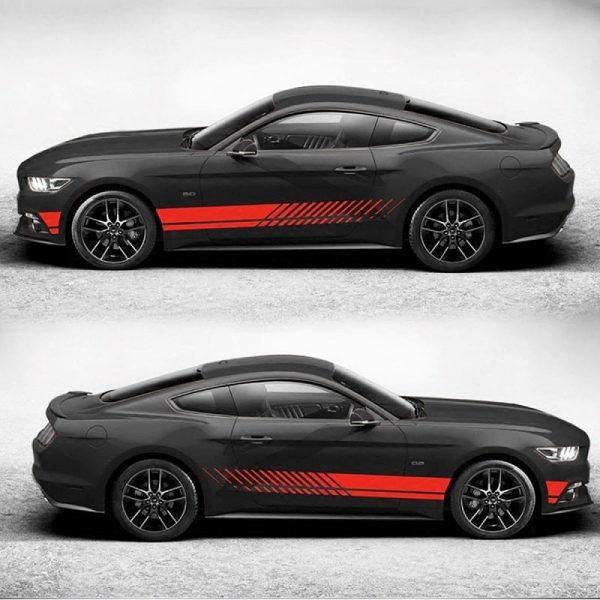 deco-pour-voiture-rallye-noir-et-rouge