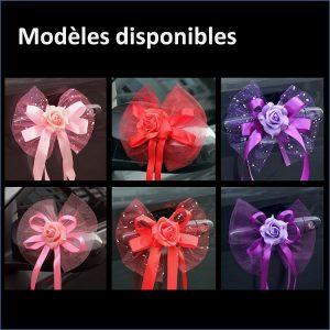 decoration-de-voiture-pour-mariage-avec fleurs-modeles-disponibles