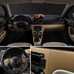 fibre-de-carbone-or-pour-voiture
