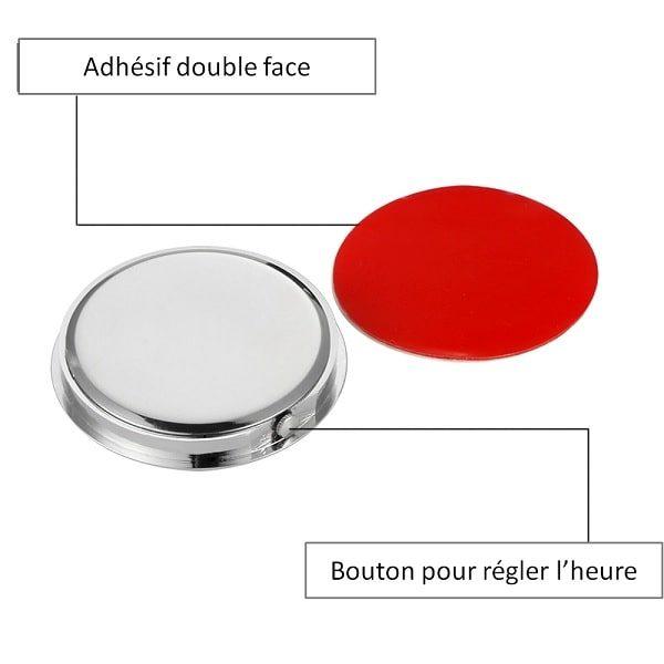 horloge-de-voiture-avec-fixation-par-adhesif