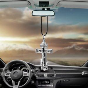 pendentif-jesus-sur-sa-croix-pour-retroviseur-interne-de-voiture