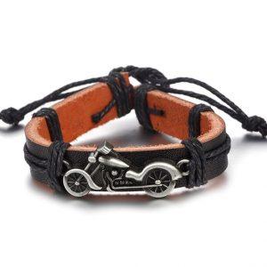 bracelet-en-cuir-biker