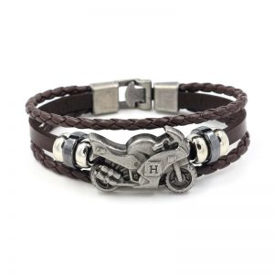 bracelet-moto-en-cuir-large-marron