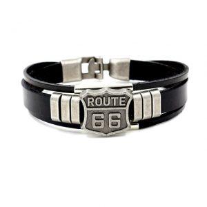 bracelet-moto-route-66-en-cuir