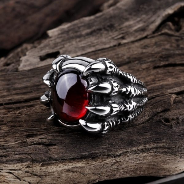 bague-griffe-homme-rouge
