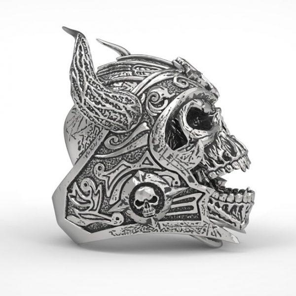 bague-viking-homme-couleur-argent-vue-de-profil