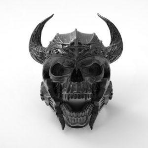 bague-viking-homme-couleur-noir-vue-de-face