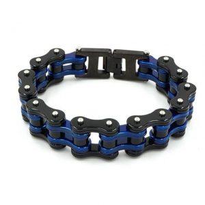 bracelet-chaine-moto-bleu