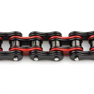 bracelet-homme-rouge-et-noir-ouvert
