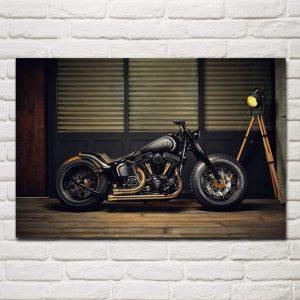 tableau-moto-vintage