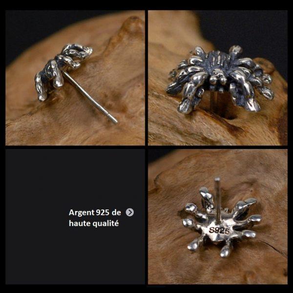 boucle-d'oreille-araignée-argent
