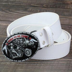 ceinture-biker-harley-modele-blanc