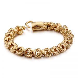 bracelet-tete-de-mort-couleur-or