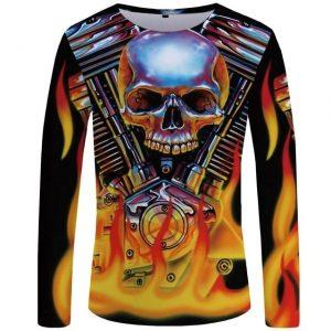 t-shirt-crane-et-moteur-en-flamme