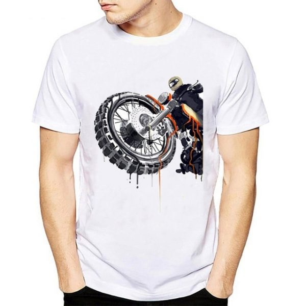 t-shirt-moto-cross-zoom-sur-roue