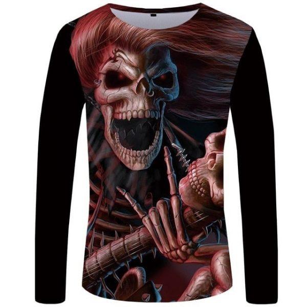 t-shirt-tete-de-mort-rockeur