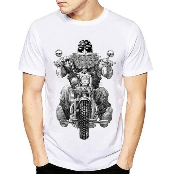 tshirt-moto-avec-motard