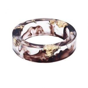 bague-resine-transparente-marron