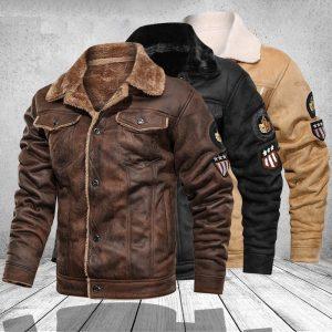 Blouson cuir biker homme