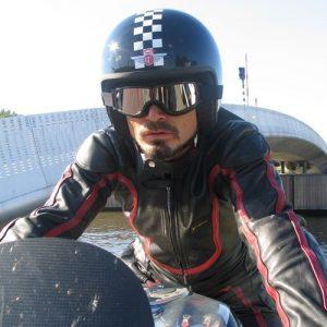 Lunette biker harley