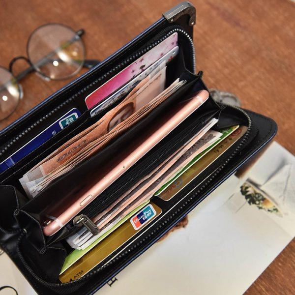 Porte monnaie avec une tete de mort