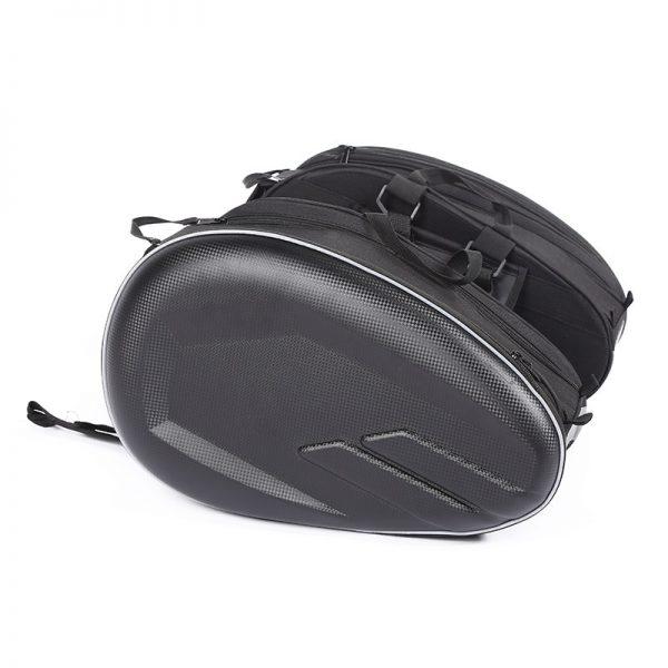 Sacoche de selle de moto noir