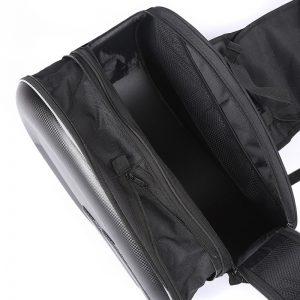 Sacoche de selle moto noir