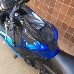 Sacoche pour réservoir moto