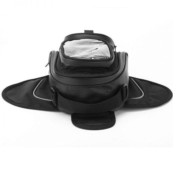 Sacoche réservoir de moto noir