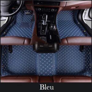 Tapis voiture bleu
