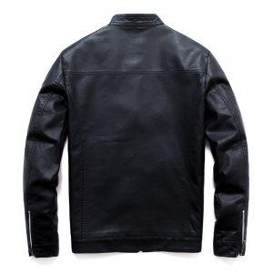 Veste cuir de biker homme