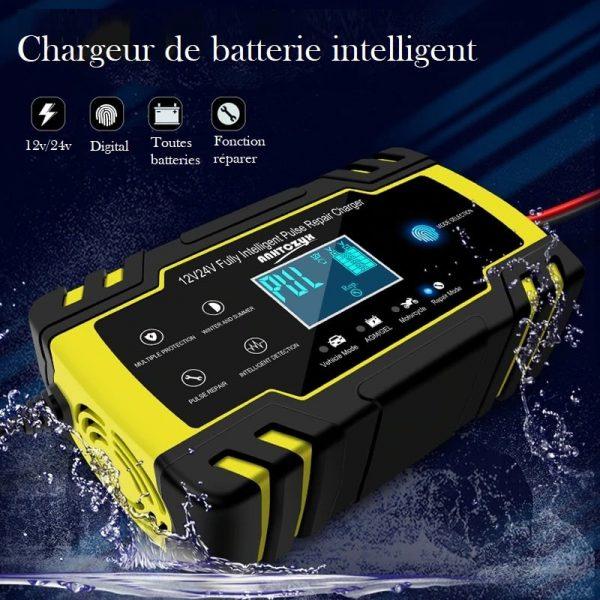 Chargeur de batterie de voiture
