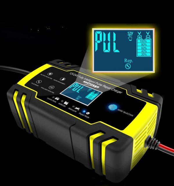 Chargeur de batterie rapide voiture