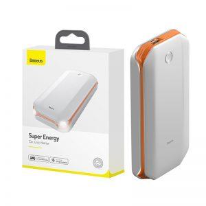 Chargeur demarreur batterie blanc