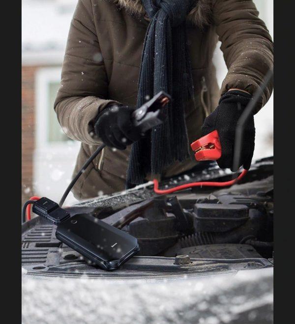 Chargeur demarreur de batterie tout véhicule