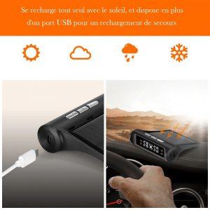 Indicateur pression pneu pour véhicule