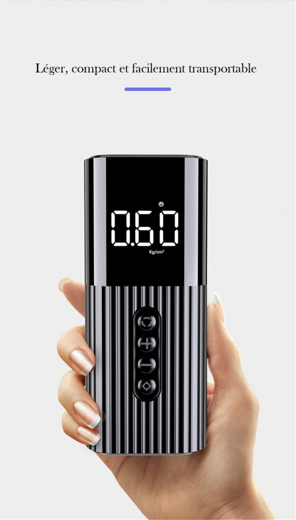 Mini compresseur 12v compact