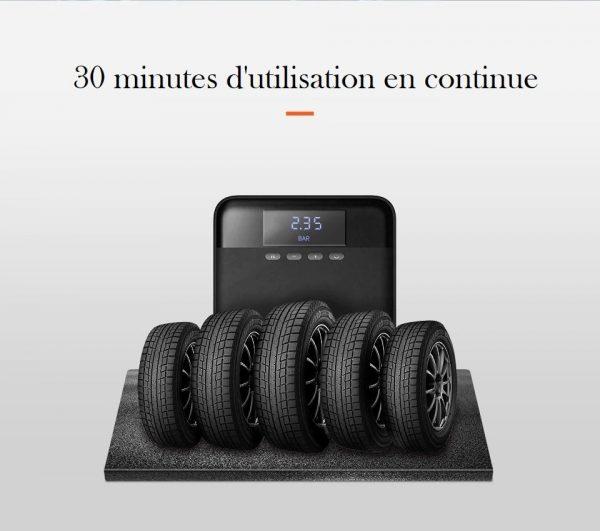 Mini compresseur portable pneus