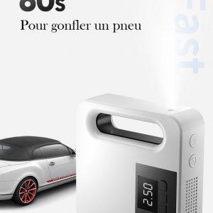 Mini compresseur pour allume cigare