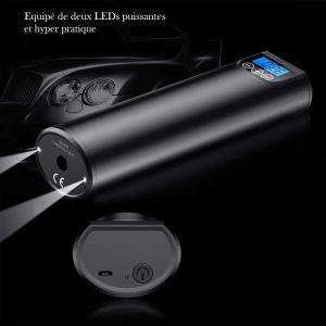 Petit compresseur portatif lampe
