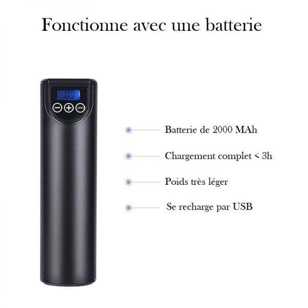 Petit compresseur portatif USB