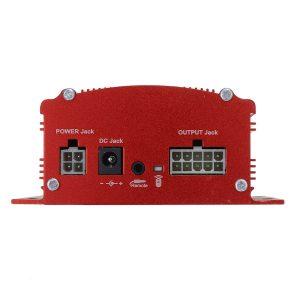 Radio pour moto couleur rouge