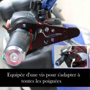 Regulateur de vitesse pour moto