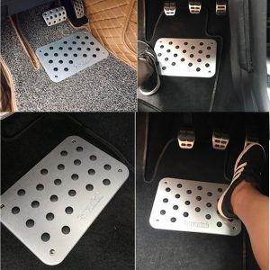 Tapis auto en aluminium