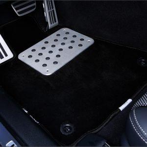 Tapis pour auto en aluminium